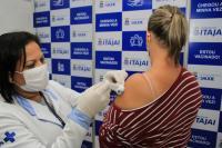 Trabalhadores industriais poderão ser vacinados a partir desta quinta-feira, 22. Foto: Divulgação/Prefeitura Municipal de Itajaí.