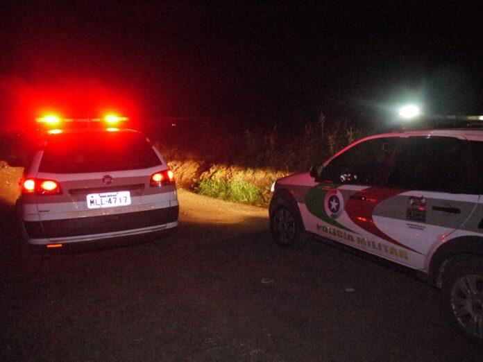 Policiais investigam caso que ocorreu nesta quarta-feira, 4. Foto: Divulgação/PM.