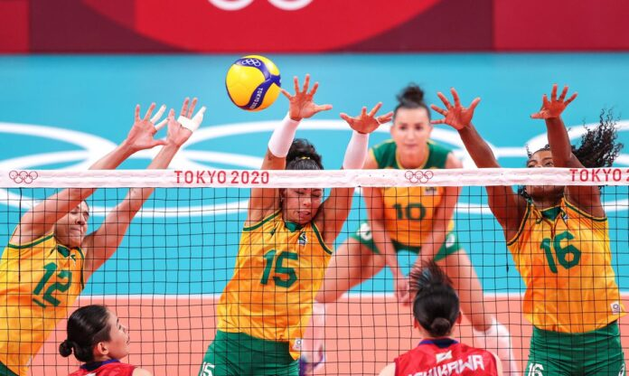 Brasil bate Coreia do Sul por 3 a 0 na semifinal. Foto: Wander Roberto/COB.