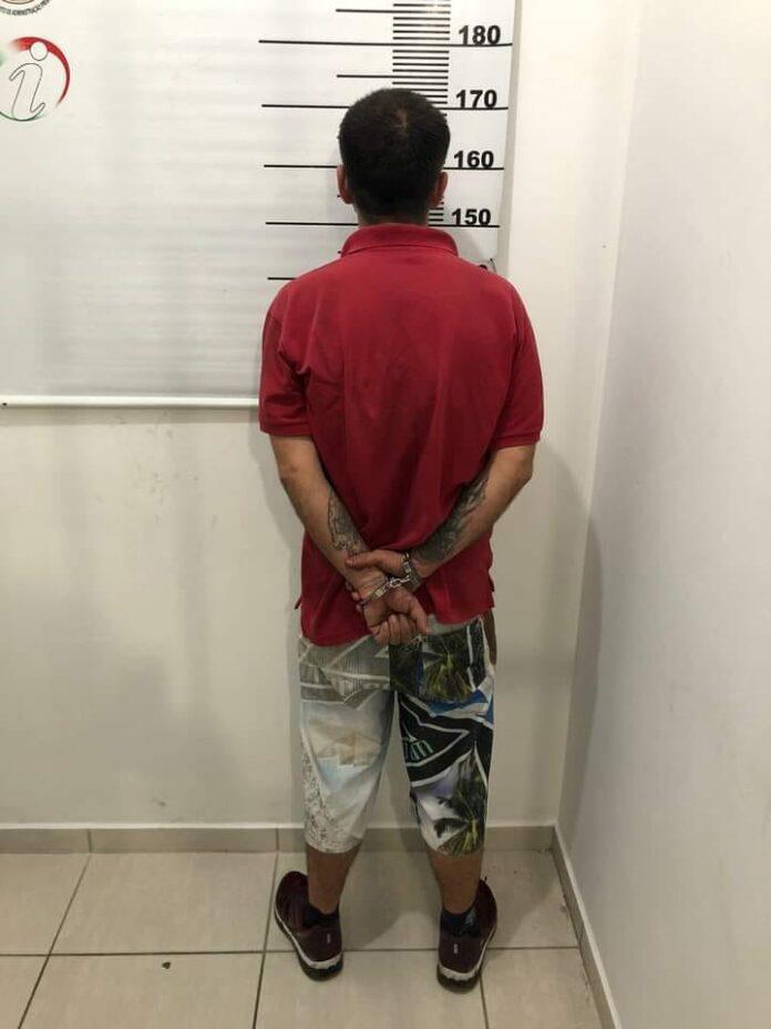 Foragido de penitenciária com pena de 26 anos é preso nesta madrugada em Joinville. Foto: Divulgação