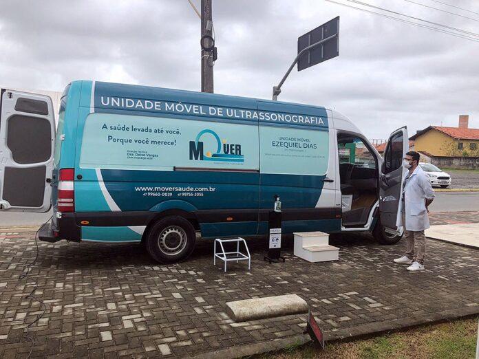 Prefeitura de Balneário Piçarras realiza mutirão de exames em unidade móvel. Foto: Divulgação